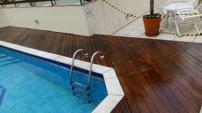 restauração de deck de piscina Jurubatuba