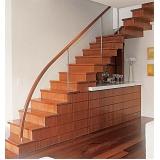 aplicação de deck de madeira para varanda preço Santo André