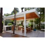 aplicação de deck de madeira para varanda Tamboré