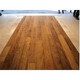 aplicação de deck de madeira Jardim América