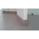 aplicação de piso de madeira na cozinha preço Tremembé