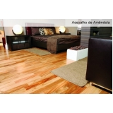 aplicação de piso laminado sobre taco