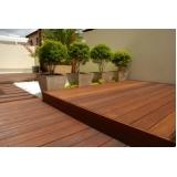 assoalho de madeira para deck preço Recanto Florido