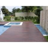 assoalho de madeira para deck Parque do Carmo