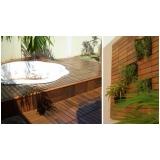 assoalho de madeira para piscina preço Residencial Nove