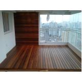 assoalho de madeira para piscina Residencial Doze