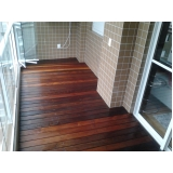 assoalho de madeira para piso preço Água Branca