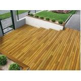 assoalho de madeira para deck