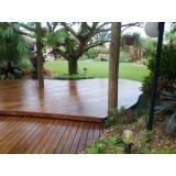 assoalhos de madeira para decks Cidade Tiradentes