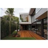 assoalhos de madeira para piscinas Jardim Lina