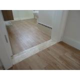 colocação de piso vinílico de madeira  preço Cidade Ademar