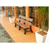 deck de madeira modular Pari