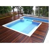deck de madeira para jardim Jurubatuba
