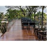 deck de madeira para sacada Vila Gustavo