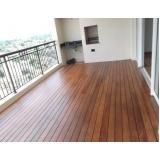 deck de madeira para varanda Parque das Paineiras