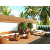 decks de madeira modulares Anália Franco