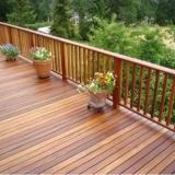 decks de madeira para piscinas Cursino