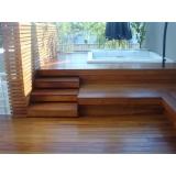 decks de madeira para varandas Residencial Doze