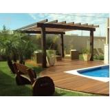 empresa de aplicação de deck de madeira para piscina Vila Gustavo