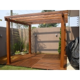 empresa de assoalho de madeira para piscina Parque das Colinas