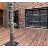 empresa de deck de madeira modular Jabaquara