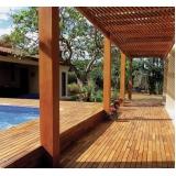 empresa de deck de madeira na parede Grajau
