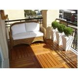 empresa de deck de madeira para jardim Sorocaba