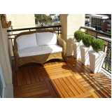 empresa de deck de madeira para jardim Jardim Leonor