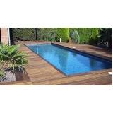 empresa de deck de madeira para piscina Santana