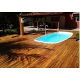 empresa de deck de madeira para sacada Pacaembu