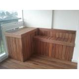empresa de deck de madeira para varanda Parque São Rafael