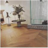 piso de laminado de madeira Residencial Doze