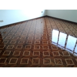 piso de madeira claro Jardim Alto da Colina
