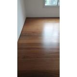 piso laminado escuro preço Alphaville Residencial Dois
