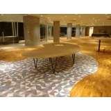 piso laminado na cozinha Samambaia