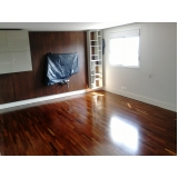 piso vinílico de madeira para academia Parque São George