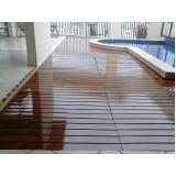 piso vinílico em manta Poá