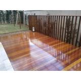 pisos de madeira claros Água Branca