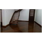 piso de madeira colocado
