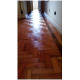 piso de madeira maciça