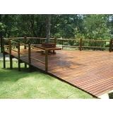 quanto custa aplicação de deck de madeira para piscina Parque São George