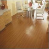 quanto custa aplicação de piso de madeira Residencial Cinco