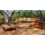 quanto custa deck de madeira modular Vila Romana