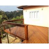 quanto custa deck de madeira para varanda Vila Clementino
