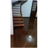 quanto custa piso de madeira colocado Parque São Lucas