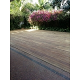 restauração de deck de madeira valor Belenzinho