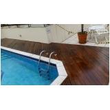 restauração de deck de piscina